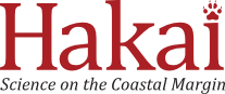 Hakai Institute Logo for the mobile view